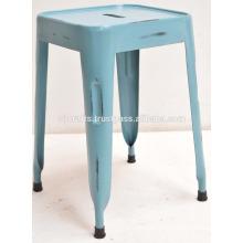 industrial vintage metal stool