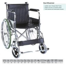 Detachable Footrest Wheelchair