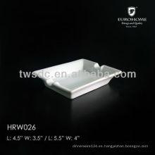 Hotel wholesale ceramic ashtray