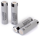 flashlight ringtone battery Panasonic NCR18650 battery