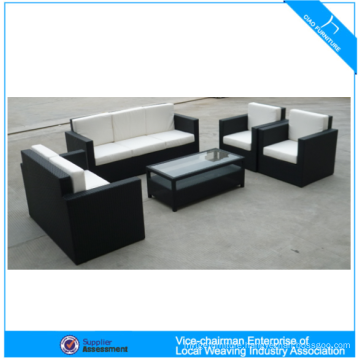 Top Quality Hot Selling Outdoor Furniture 4 Pcs Pe Rattan Popular Sofa Set