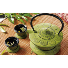 Chinese Cast iron teapot set