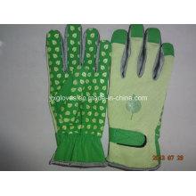 Dotted Palm Glove-Guante de trabajo-guante de guante de PVC-Guante de seguridad
