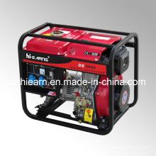 Ensemble de générateur diesel de type à cadre ouvert refroidi par air (DG5000)