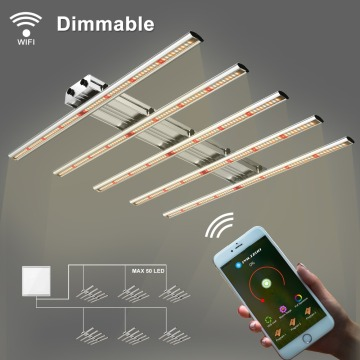 Phlizon 400W Dimmbare LED Grow Light Bars