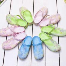 2015 fábrica de porcelana $ 6 mulheres borracha geléia fazer sapatos