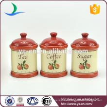Set de cajas de cerámica roja