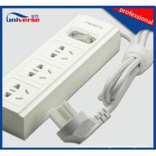 3 Ways British Electrical Socket