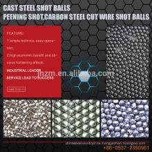 Formgegossene Stahlschuß-Kugeln, Kugelschuß, Kohlenstoffstahl schnitt Draht-Schuss-Kugeln