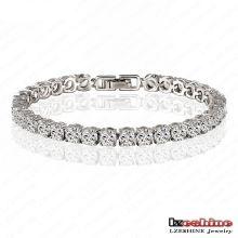 Bracelets de tennis en zircon cubiques de 0,5 carats ronds (CBR0005-B)