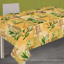 Pvc Printed fitted table covers for Outdoors
