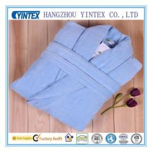 Weiche Plüsch Microfaser Fleece Bademantel Leichte Terry Lounge Robe für Männer und Frauen