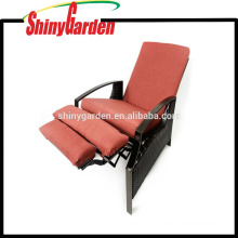 Best Outdoor Wicker Adjustable Reclining Chair/Sofa With Cushion,wicker recliner