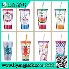 Printing on The Juice Cup, Heat Transfer Film for Plastic Cup
