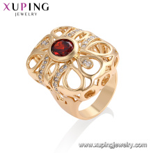 13290- Xuping Jewelry Fashion Newest Design Ring With18K Gold Plated