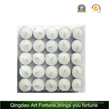 White Tealight Candle with 4 Hour Burning Time Supplier