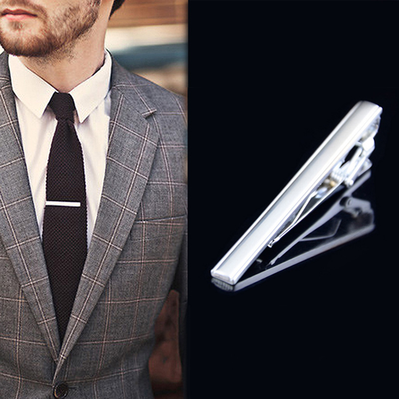 Elegant Tie Clip Bar Set