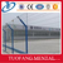 Clôture en treillis métallique soudée à l'aéroport de haute qualité, clôture d'entrepôt, clôture d'autoroute