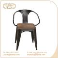Triumph Stühle mit Holzsitz / Marais Metall Esszimmerstuhl / Pulverbeschichteter Marai Cafe Stuhl