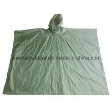 High Qualtiy Military Waterproof Poncho in Nylon PU