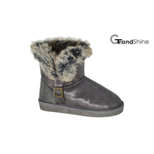 Women′s New Arrival Collar Fur Snow Boots