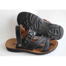 Chaussures de plage de style classique en cuir en cuir (SNB-14-019)