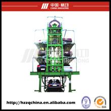 Système de stationnement à circulation verticale et système de stationnement cyclique à plusieurs étages