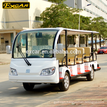 Excar Production 72V 14 Seats Electric Sightseeing bus Electric Tour Car/Bus