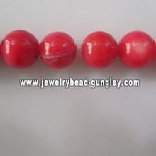 new fashion red ball shape fresh water shell