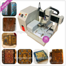 Syngood Mini CNC Router SG4040/SG3040-dog tag engraving machine