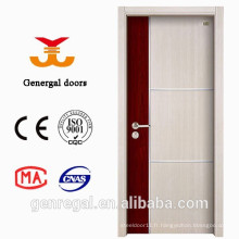 Nouvelles portes décoratives en mélamine MDF en bois
