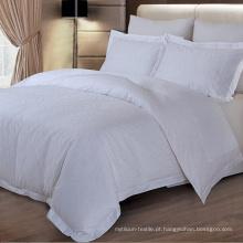 100% algodão Jacquard Weave Design cama folha conjunto de cama (DPH6024)