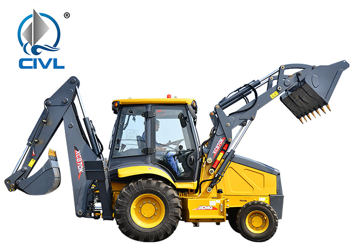 Xcmg Xc870k Chinese Wheel Excavator And Backhoe 03