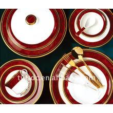 Посуда фарфоровая ужин с таблички
