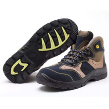 Strong and Professional Industrial Working Standard PU Labor Safety Shoes