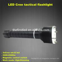 3T6 CREE XM-L2 LED lámpara de autodefensa Tactical Diving Linternas