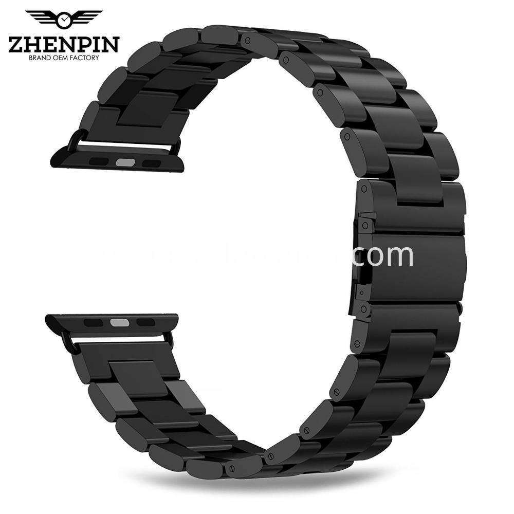 Black Apple Watch Bracelet