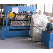 Máquina formadora de rollos de piso de cubierta trapzoidal de tipo popular