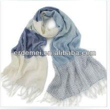 fashion strips men's winter scarf cotton
