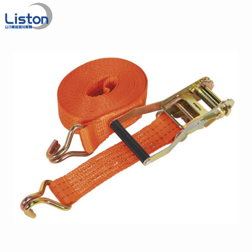 CE & GS 5Ton Polyester Ratchet Belt Tie Down Strap