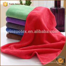 Rote Farbe Mikrofaser Handtuch, Mikrofaser Sport Handtuch, Mikrofaser Strandtuch