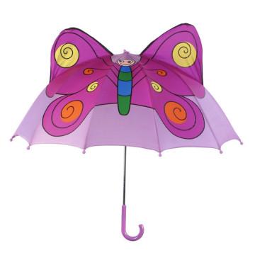 Manual Open Butterfly Shape Kids Umbrella (BD-75)
