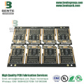 2 FR4 Layers PCB Quickturn PCB Ultrathin Nero opaco
