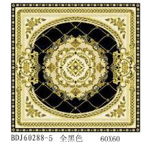 Fábrica de Cristal Pulido 300X300 Azulejos con Oro en Guangxi (BDJ60288-5)