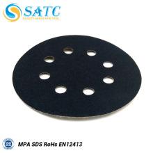 Discos abrasivos abrasivos SATC de gancho y bucle para pulir