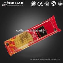 Impresión en hilatura de materiales de embalaje de fideos instantáneos en bolsas de embalaje