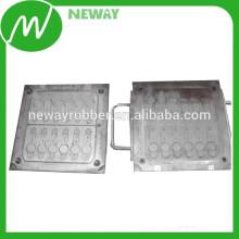 Material de acero de alta calidad que comprime el molde del silicio