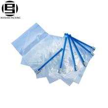 Transparent opp ziplock slider plastic packing bags
