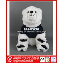 Juguete modificado para requisitos particulares promocional de la mascota de la felpa del club