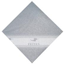 FEITEX Bas prix solide africaine régulière Gele tête cravate fête Jubilee Nigeria tissu 1 pc / pack